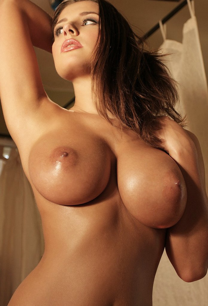 Sexy white naked girls with big boobs — 6
