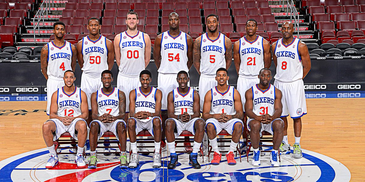 Nba On Espn On Twitter 76ers Are The Only Nba Team Without A Single Player From Its Roster At End Of 2012 13 Season Via Eliassports Https T Co Eewem1dxww