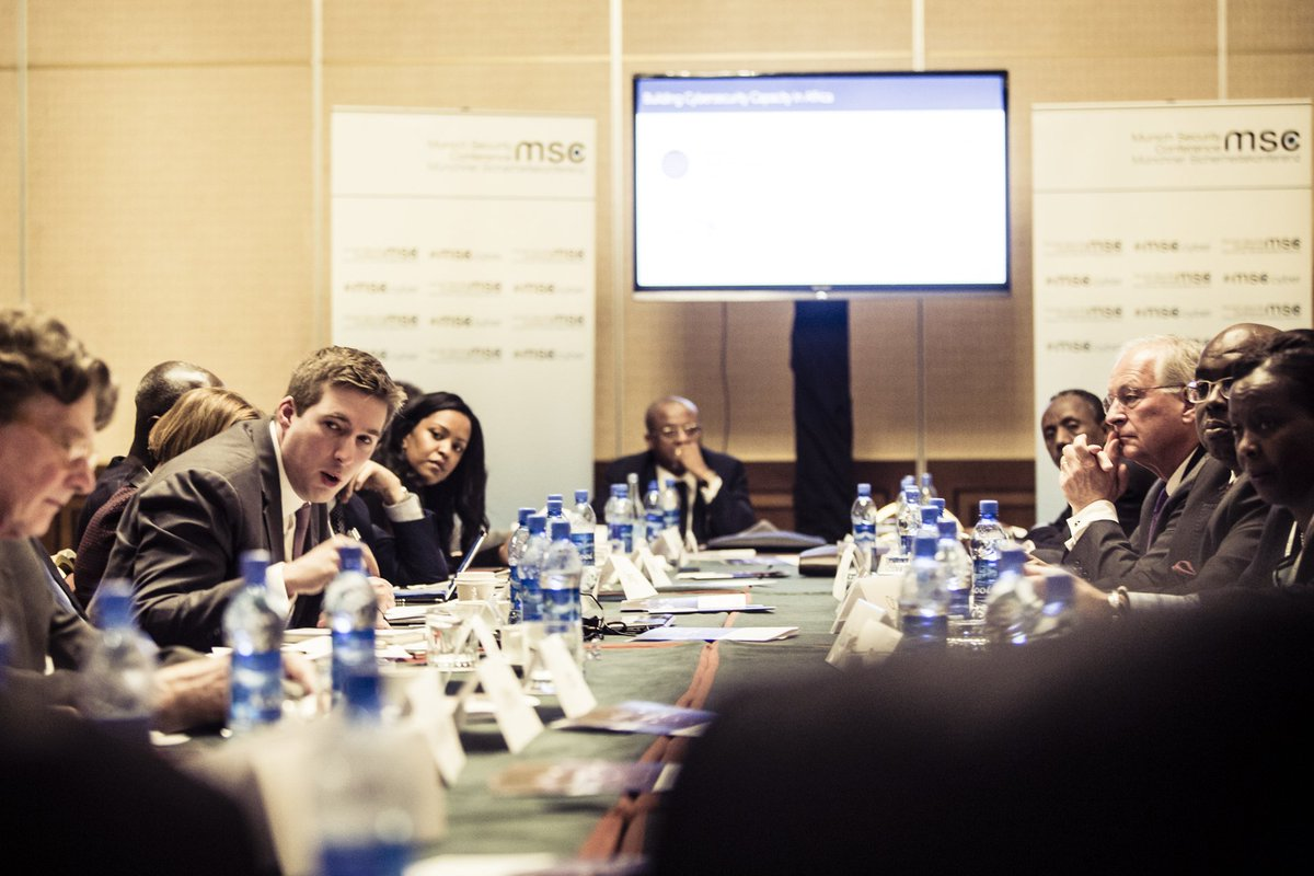"""Protecting Africa's Digital Transformation"" - Impression from our #MSCaddis cyber security roundtable w/ @Microsoft https://t.co/N5qlv5QtIa"