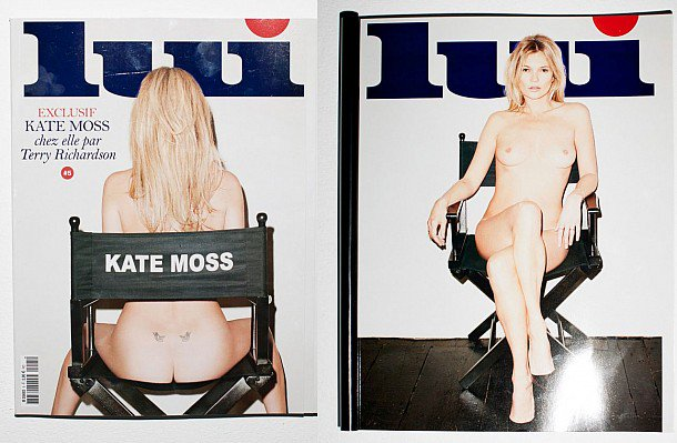 kate Lui moss magazine