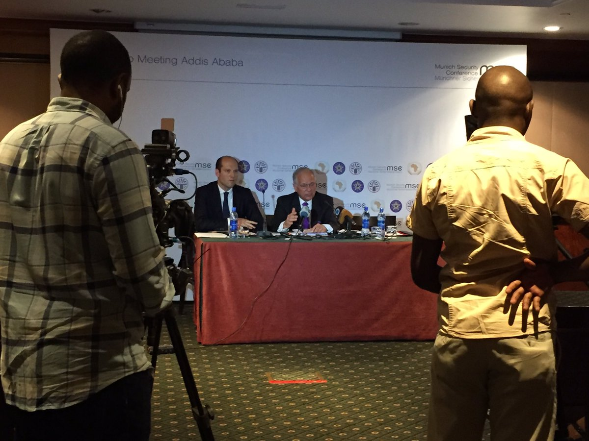 Europe needs to understand: Africa matters, there's no alternative to more dialogue- @ischinger @ #MSCaddis briefing https://t.co/fd3cEwLs3T