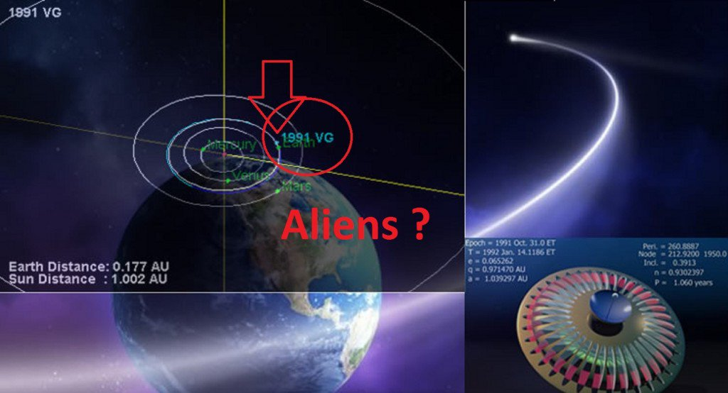 Misterioso oggetto spaziale passerà vicino alla Terra nel 2017. Una sonda aliena?