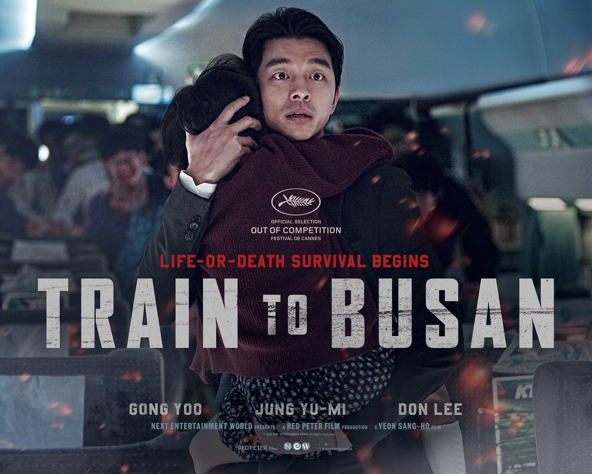 Poster for Yeon Sang-ho's zombie action-thriller TRAIN TO BUSAN, screening in #cannes2016 midnight lineup. #부산행 https://t.co/FMhas0v3TF