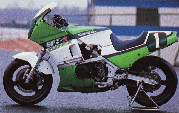 Chaz Mascorto On Twitter Teamgreen Kawasaki Gpz R Ninja 400