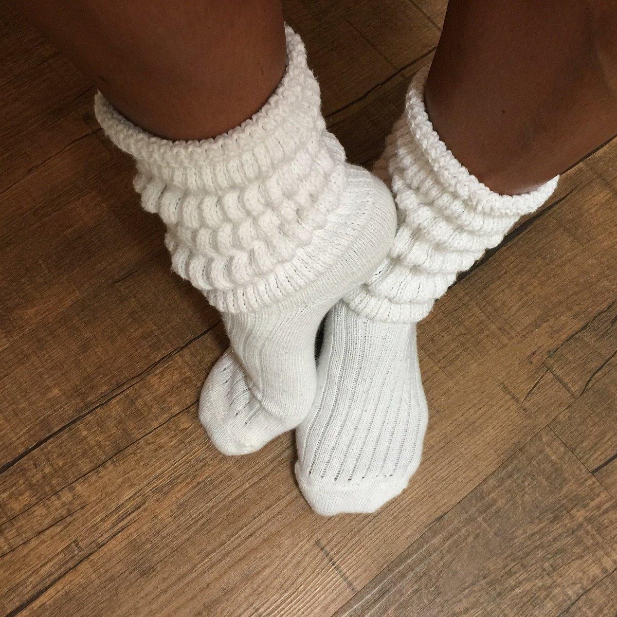 Sock fetish slouch