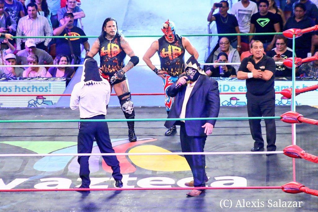 CMLL: Una mirada semanal al CMLL (del 31 de marzo al 6 de abril de 2016) – Rush va por Corleone, Bucanero retiene en aniversario de la Coliseo, Esfinge se lleva la Gran Alternativa, LA Park en Elite y mucho más... 21