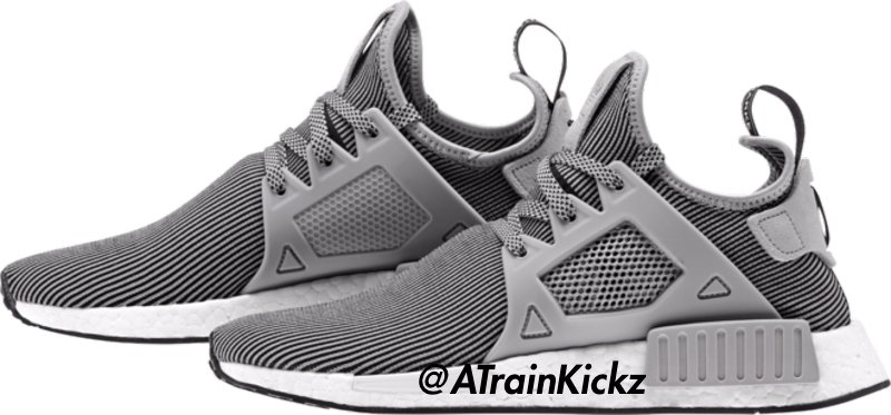 Adidas NMD XR1 PK Primeknit Light Gray Granite Gray S32218 Size 9.5