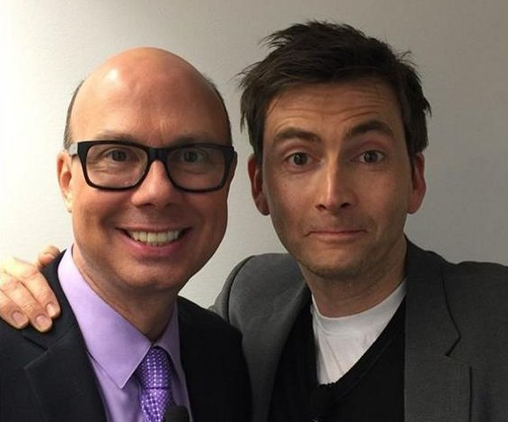 David Tennant at the Conversations On Broadway event - 6th April 2016