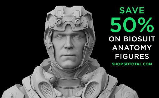 3dtotal On Twitter Save 50 On Biosuit Anatomy Figures In The