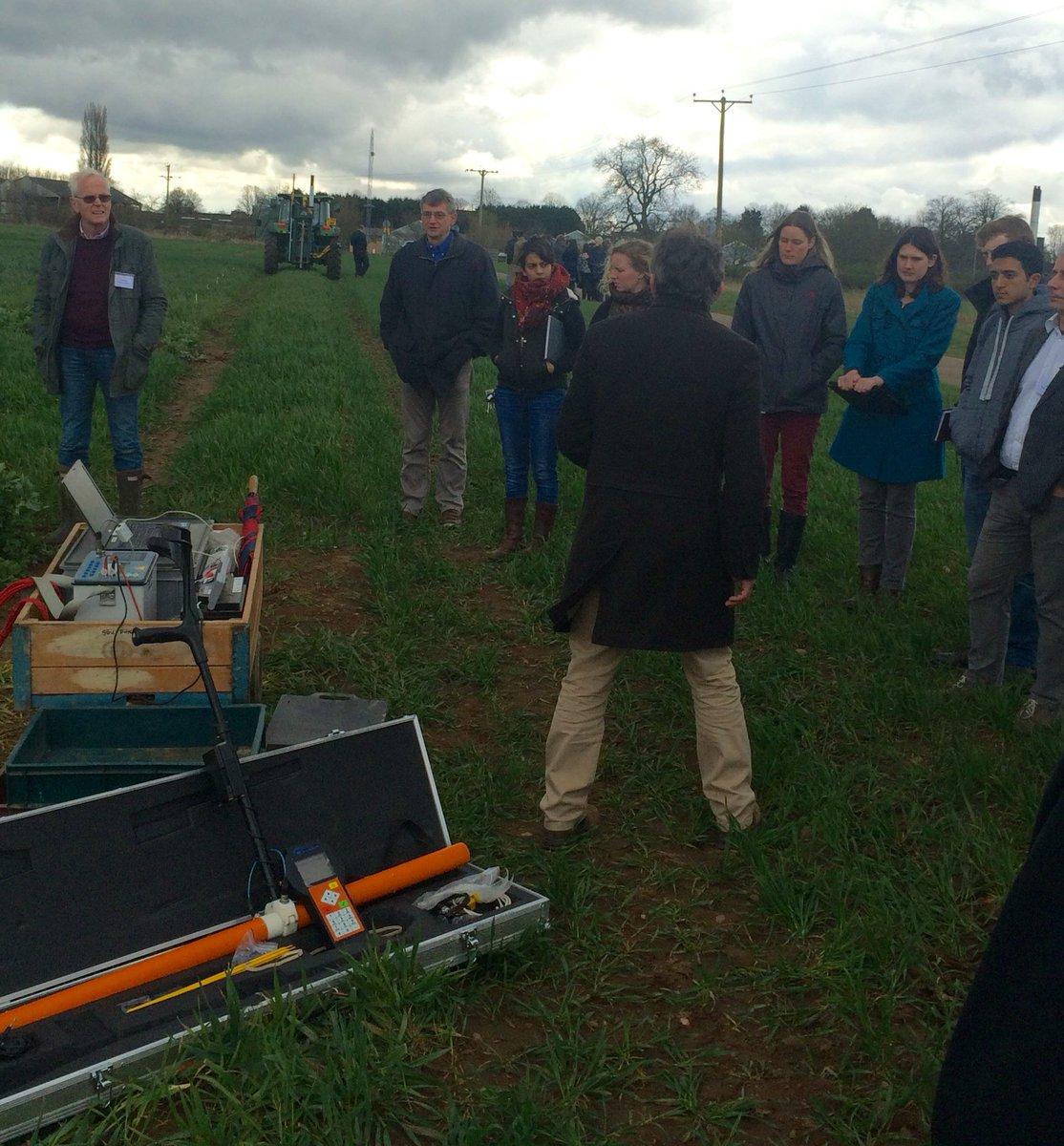 #ukppn Live action soil measurements demo w Andrew Binley @LancsUniLEC @cpib_news https://t.co/CMAtACusCr