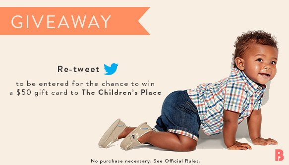 Get baby dressed for spring! RT today for the chance to win a gift card to @childrensplace https://t.co/Kb92amUH1i