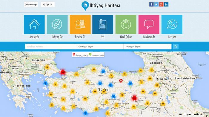 İhtiyaç Sahipleri İle Destekçilerini Haritadan Buluşturan Parasız Platform