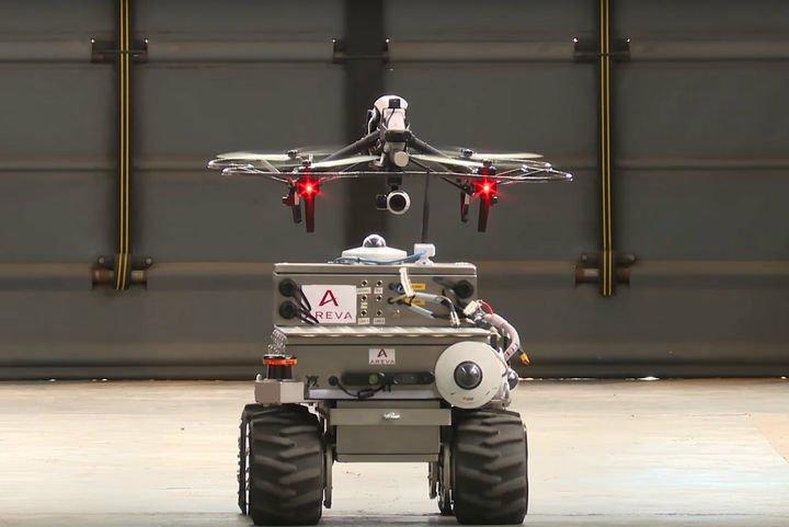 L'industrie c'est fou: Areva a développé un drone pour mesurer la radioactivité  https://t.co/HFrnqUBqTU https://t.co/8RrMVzrn0C