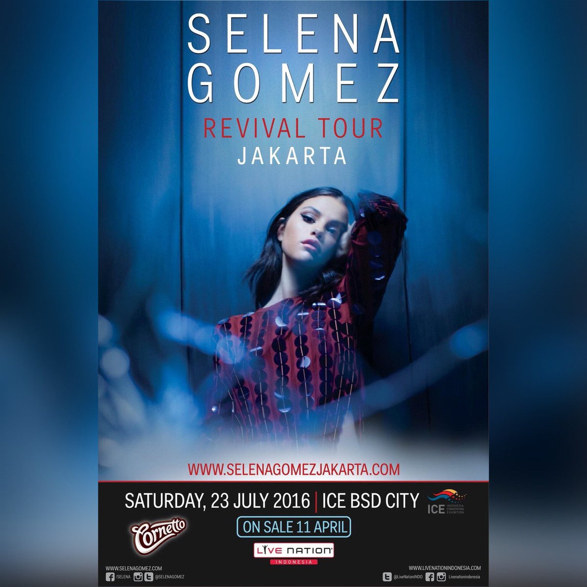 Who's excited for #SelenaGomezJKT? Get her new album #Revival here https://t.co/Os9MgW1eNa @SelenatorINA https://t.co/dHrANizGwH