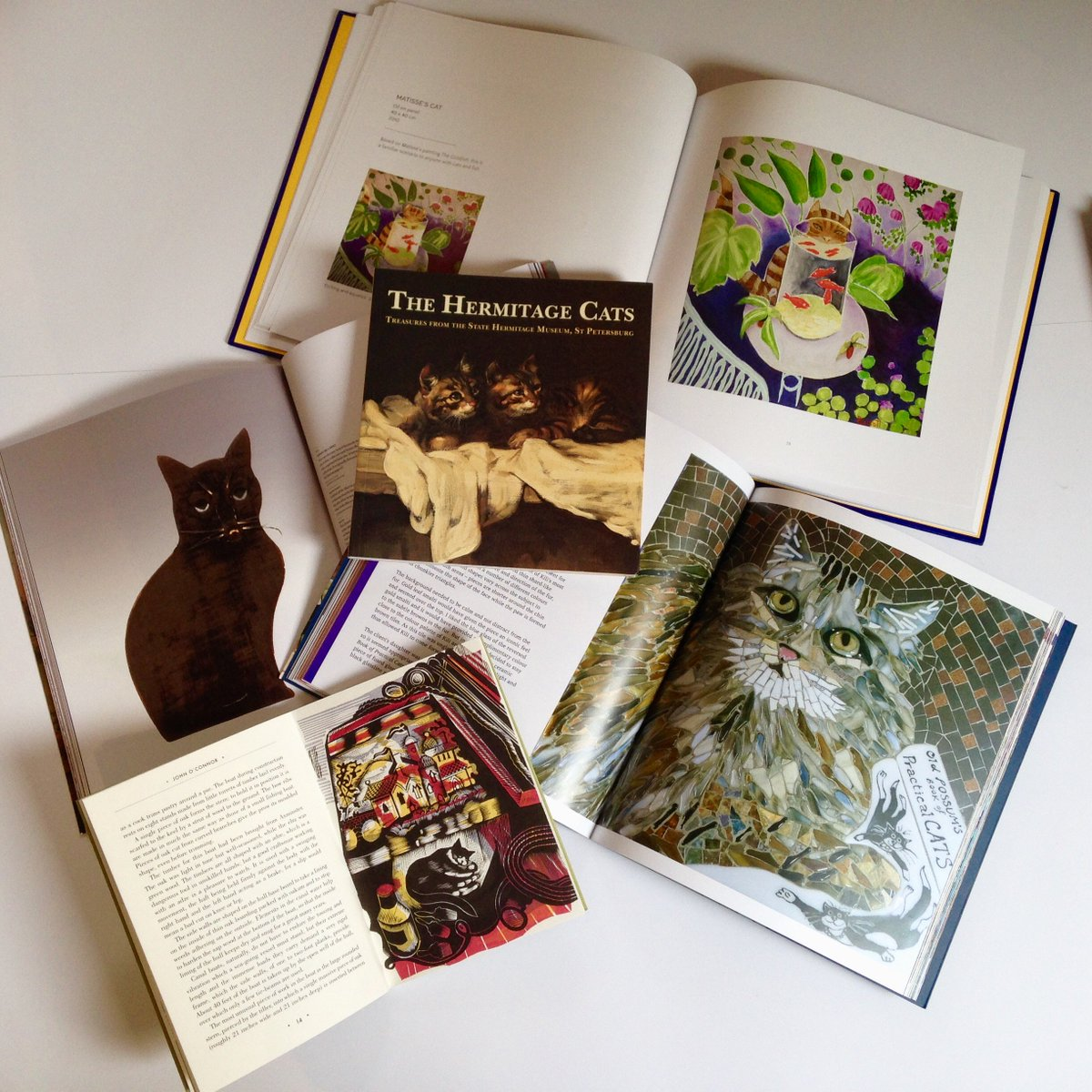 Have you seen our #CatBooks? #HermitageCats #MasterMuse #GeorgeSmart #MartinCheek #InArcadia #cats #kittens #books<br>http://pic.twitter.com/dcBXoAtT5t
