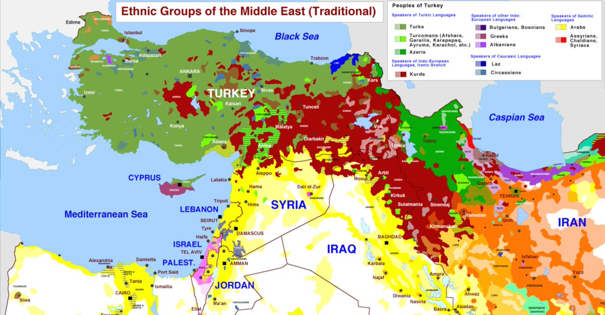 archicivilians on twitter must see middle east demographic map iran turkey syria iraq israel httpstcoc9pprflypi