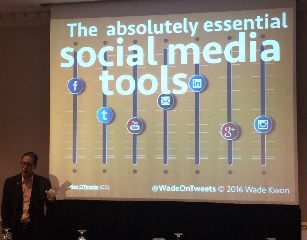 Learning about the #AbsoluteSocialMediaTools from @WadeOnTweets at #PRAM2016! https://t.co/hXYps2OuBW