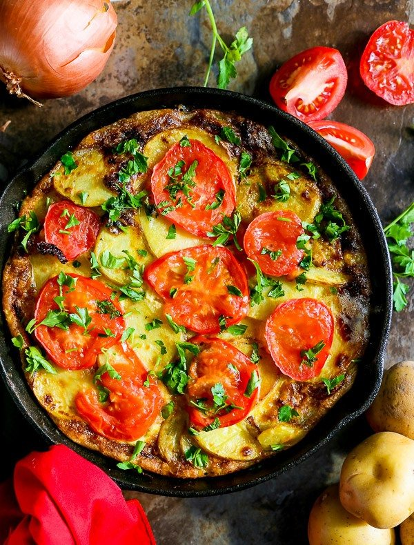 Wake up to world flavor with this brunch-worthy 5-Ingredient Spanish Omelette https://t.co/9tET6RowsM #TasteOfSpain https://t.co/HL9mSIFZdd