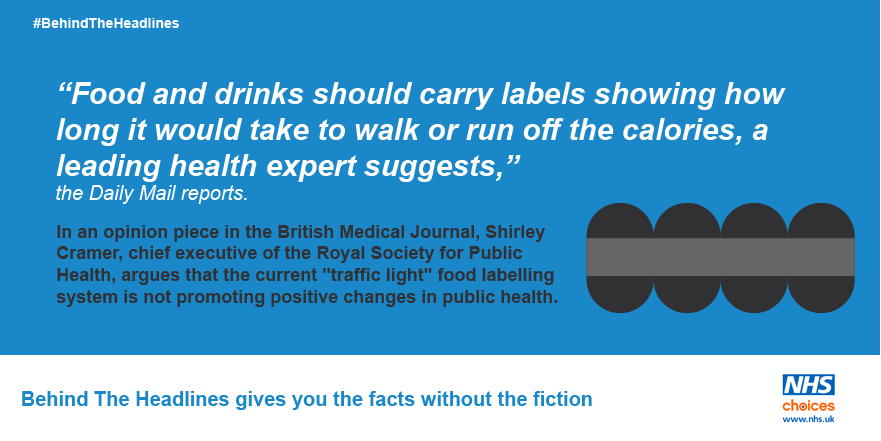 Nhs On Twitter Exercise Labels And Food Packets The