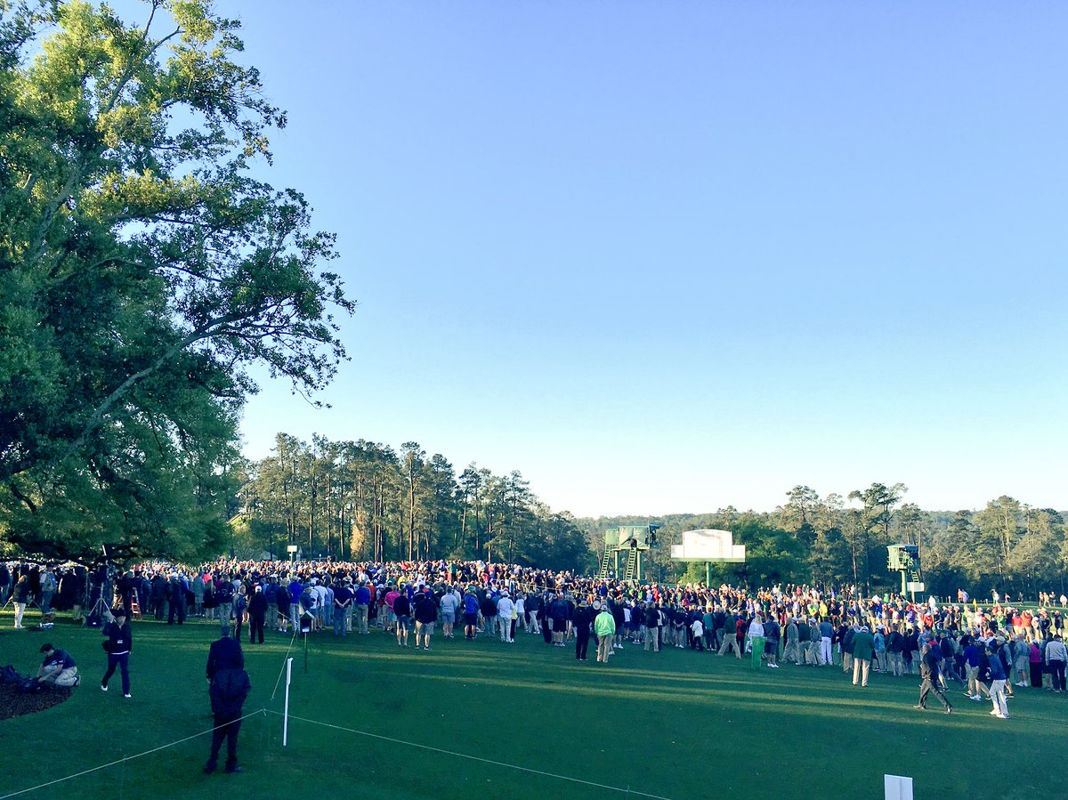 A joy to watch the honorary starters tee off this morning. The Masters has begun. #TheMasters #legends #respect https://t.co/O4BFGKSy3Q