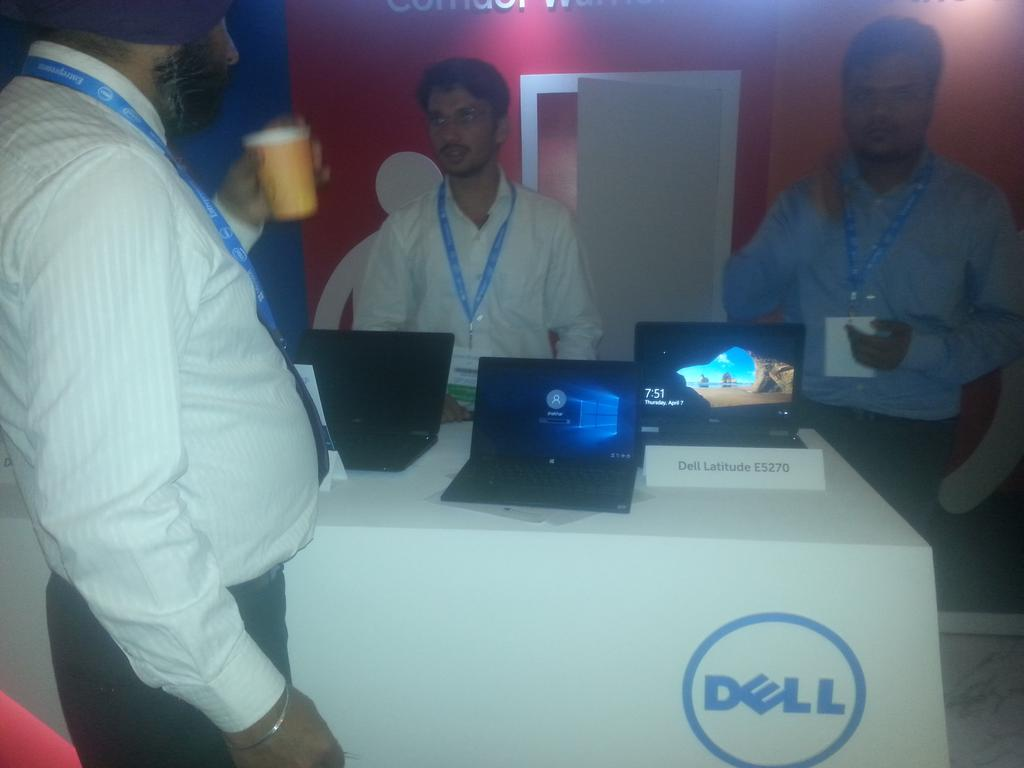 #dell laptab #Windows10 #AccelerateYourBusiness2016 #startup #StartupIndia #microsoft #archino.in