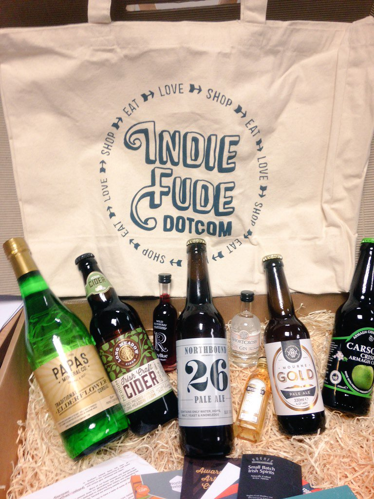 Lovely celebration of Northern Ireland's craft beers, cider, gin & whiskey from @IndieFude @discoverni https://t.co/cRvsXMNoY1