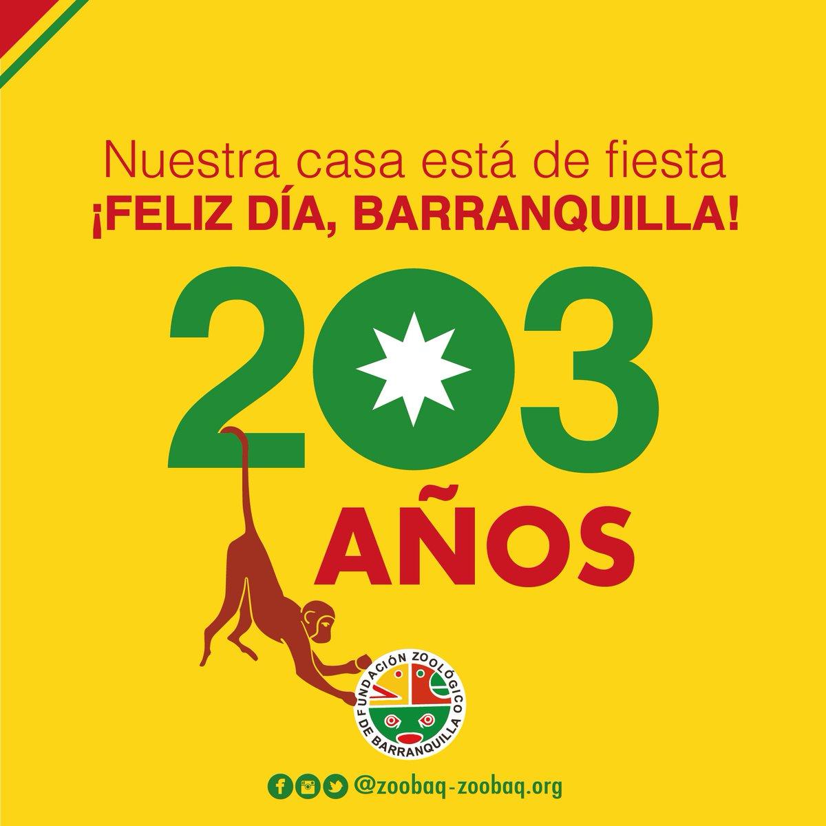 Barranquilla, ¡gracias por hacernos parte de tu historia!  ¿Y tú cómo celebras esta fecha? https://t.co/YvIs70dEkb