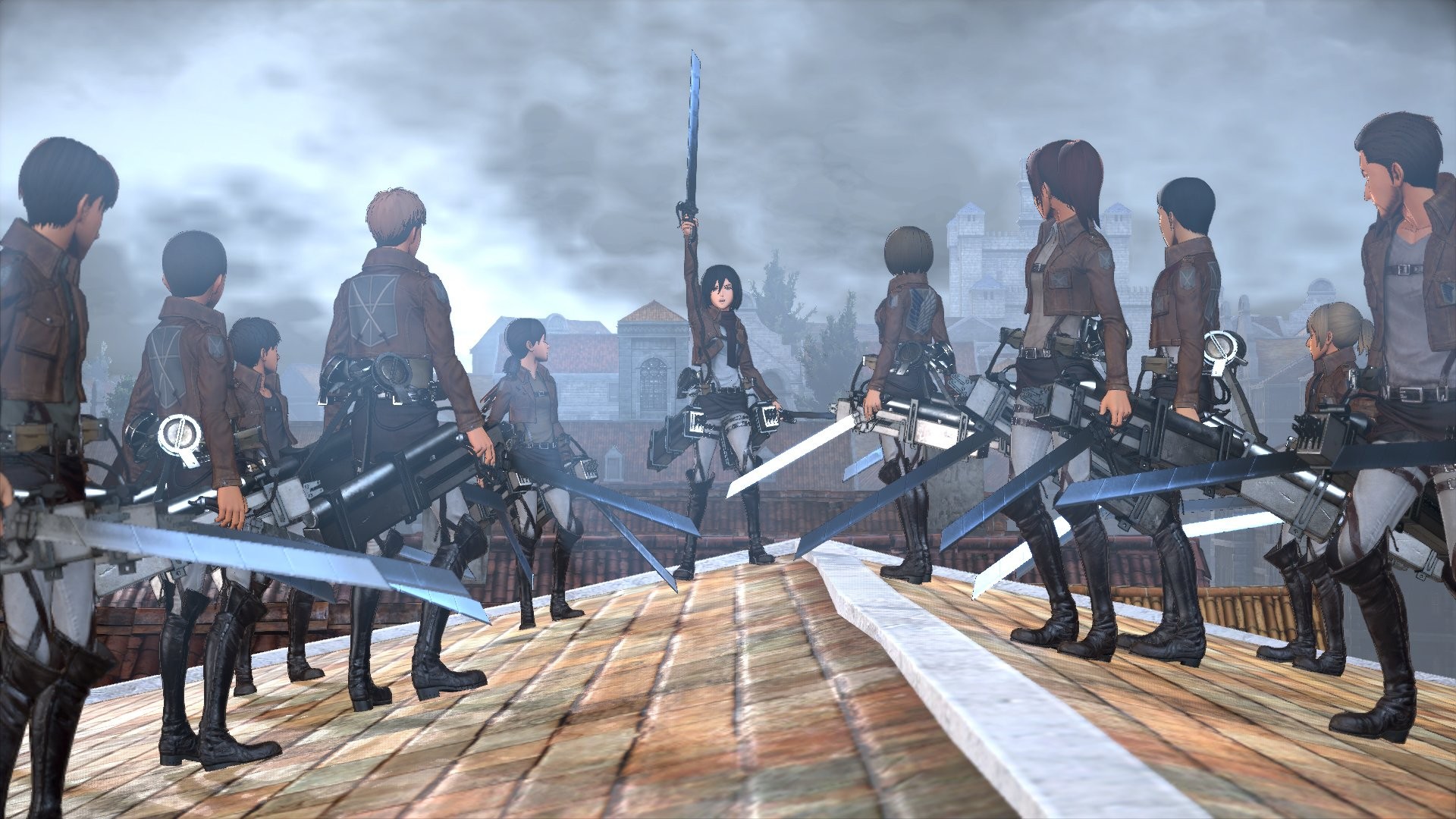 Attack on Titan Launches This Fall For PC, PS4 & Xbox One 4