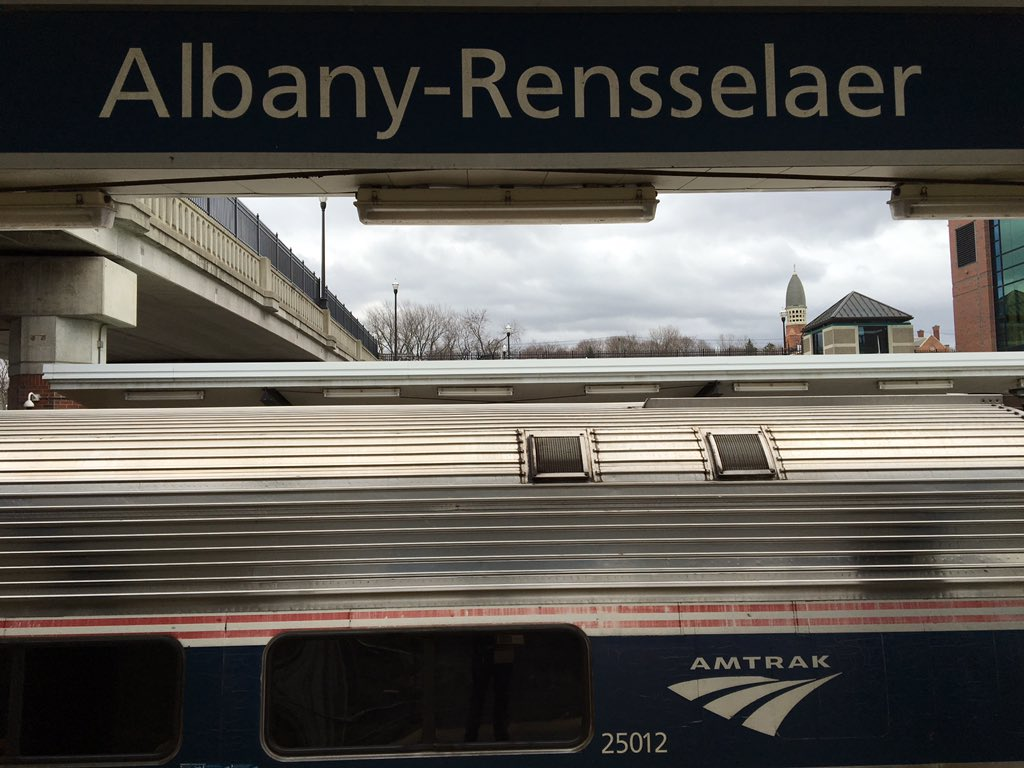 Halfway to Rochester #nysutra @nysut @Amtrak @UFT #Reclaimourschools https://t.co/gEwkQCY8Gq
