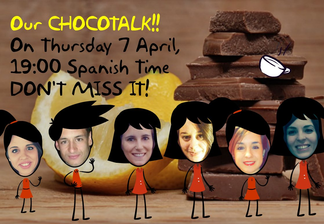 If you want to discover interesting facts about CLIL join our chocotalk at 19:00! #chococharlas #ictclil_urjc #clil https://t.co/EGWbvBZhsi