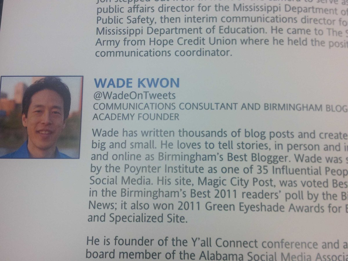 Getting ready to hear from Wade Kwon @wadeontweets at #PRAM2016 https://t.co/aenojtECwE