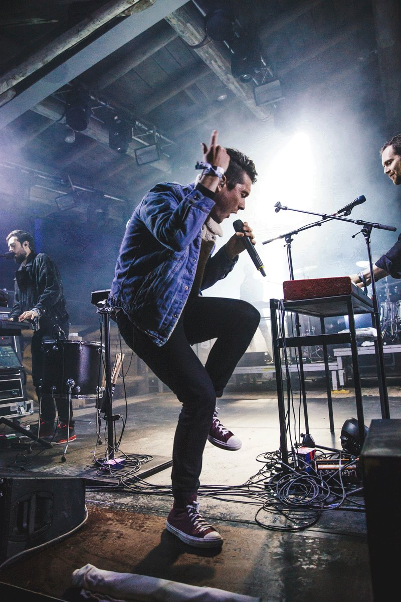 It's not all about tunes...  Our boy @bastilledan's got some pretty slick moves too!