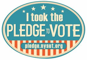 "Looks like some enterprising NYSUT local presidents are first to ""Pledge to Vote"". More info to come! #NYSUTRA https://t.co/uXdh8YgxIn"
