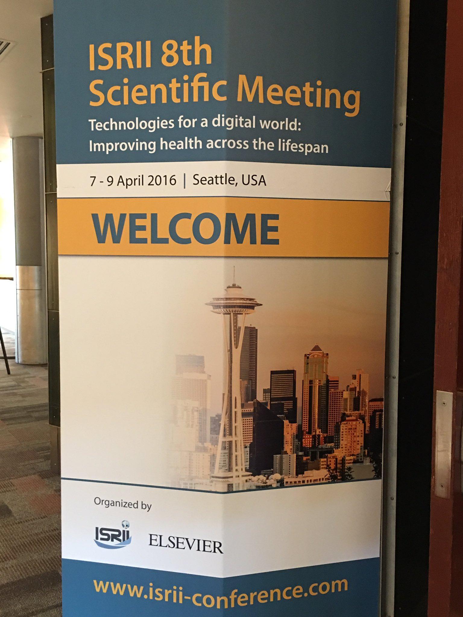 ISRII 8th Scientific Meeting. Health across the lifespan. #isrii8 #pflegetab https://t.co/0KJeYHTseF