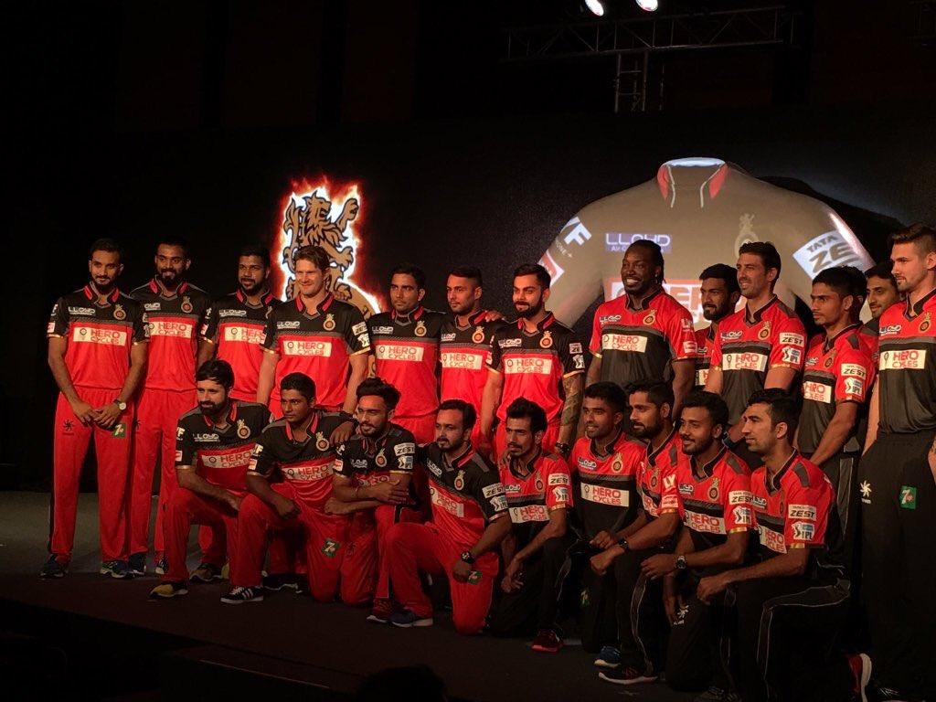 Royal Challengers Bangalore launches their new IPL jersey 1