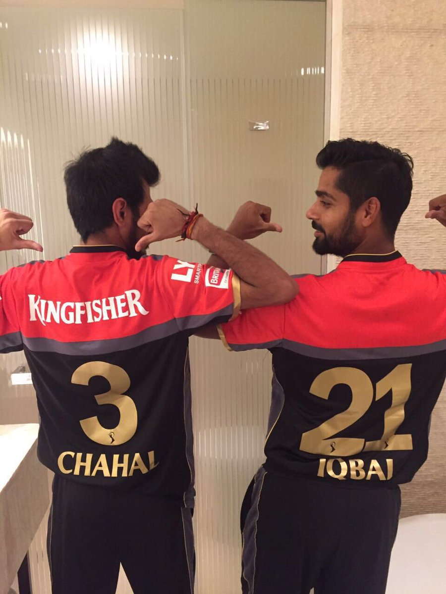 Royal Challengers Bangalore launches their new IPL jersey 2