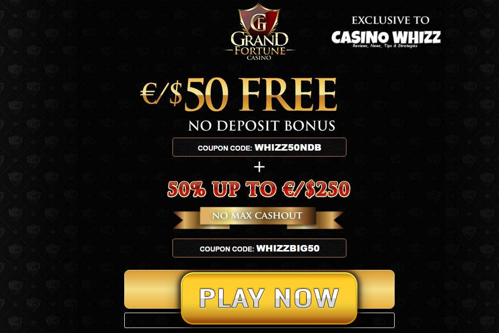Grand fortune casino free bonus