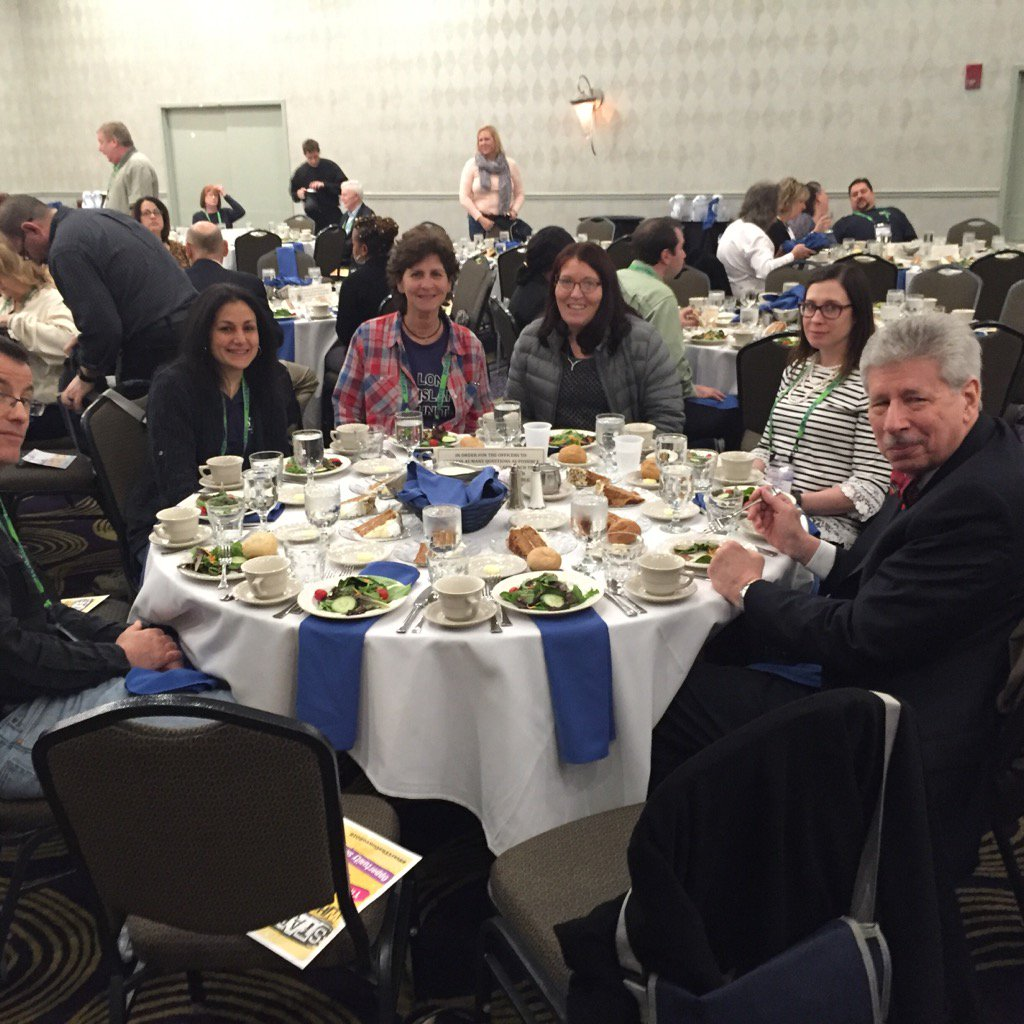 Lunch commences at #nysutra - Ready to hear our officers! https://t.co/qoK4i7lgLU