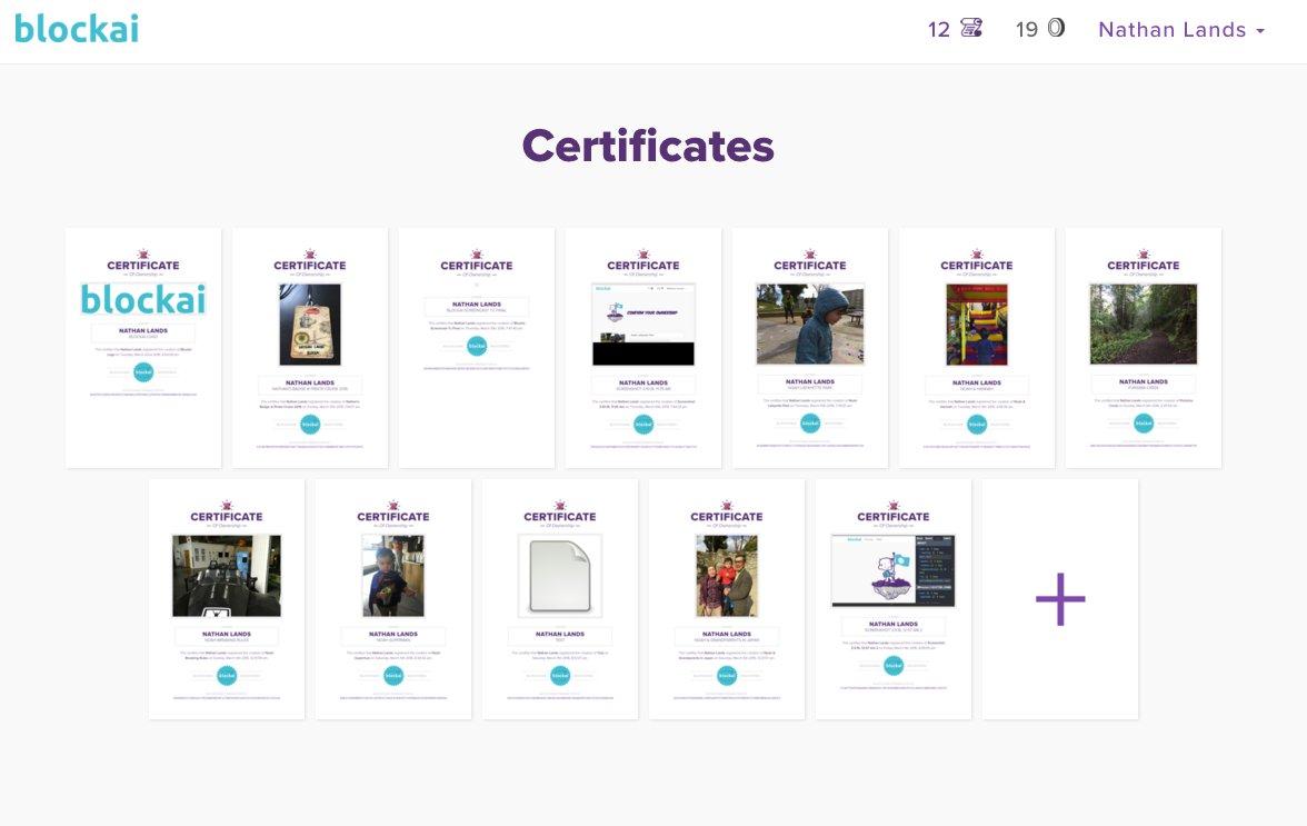 Our new certificates list design :) https://t.co/BZ6KVL0BaJ