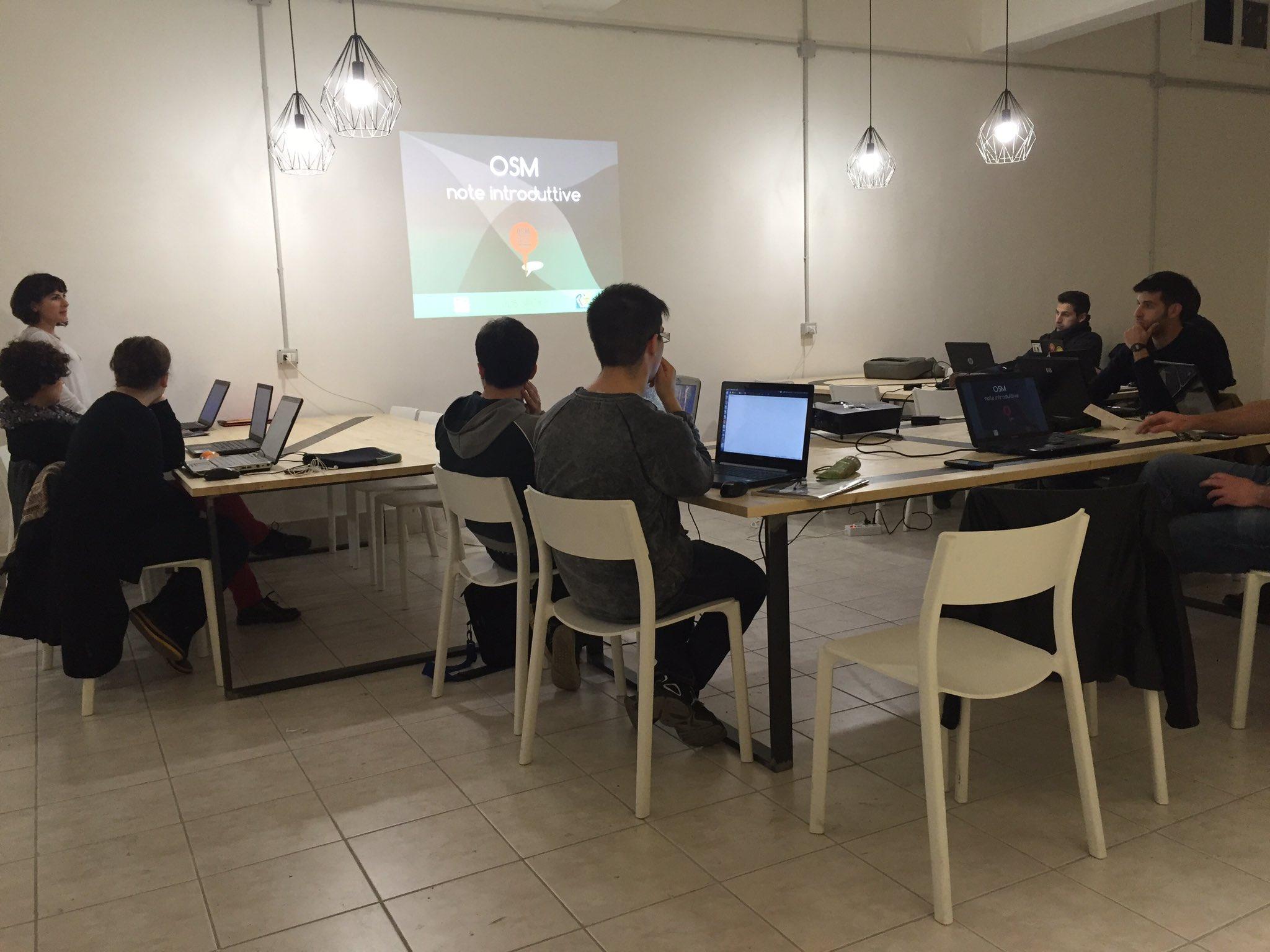 Si parte con il #MappingMeetings per il progetto #5xmillemappe con @Sard_opendata sardinia. #opendata #events #osm https://t.co/UFSp9FYVhk