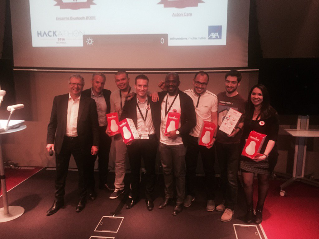 NumeriCar premier prix #digitalaxa félicitations! https://t.co/vRzqnXOExV