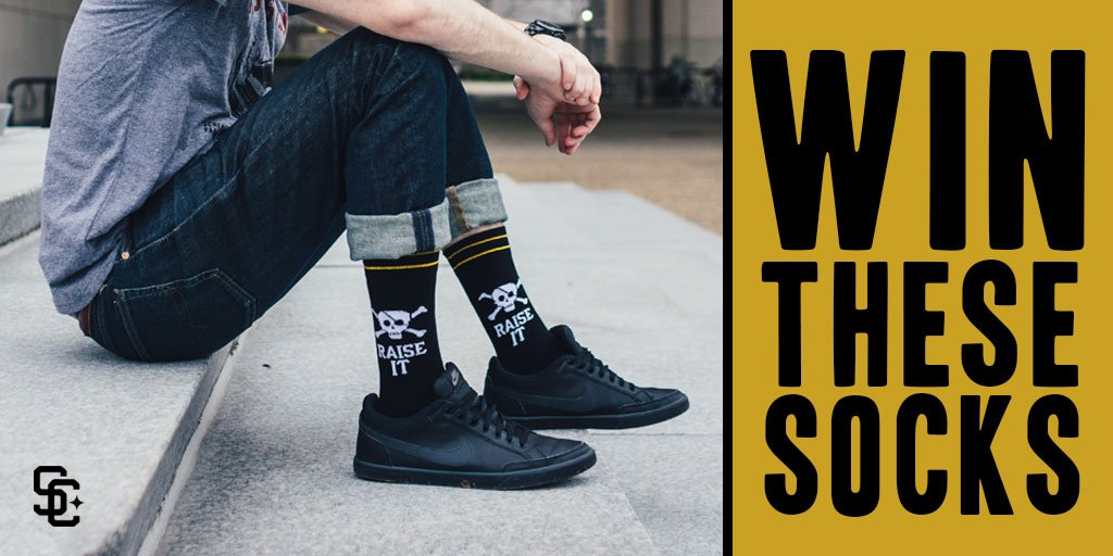 CONTEST! Win these @SteelCityCotton socks! https://t.co/ESuDP7TQ04 -RT this -Reply & guess who hits 1st Pirate HR https://t.co/mW0pgnFILP