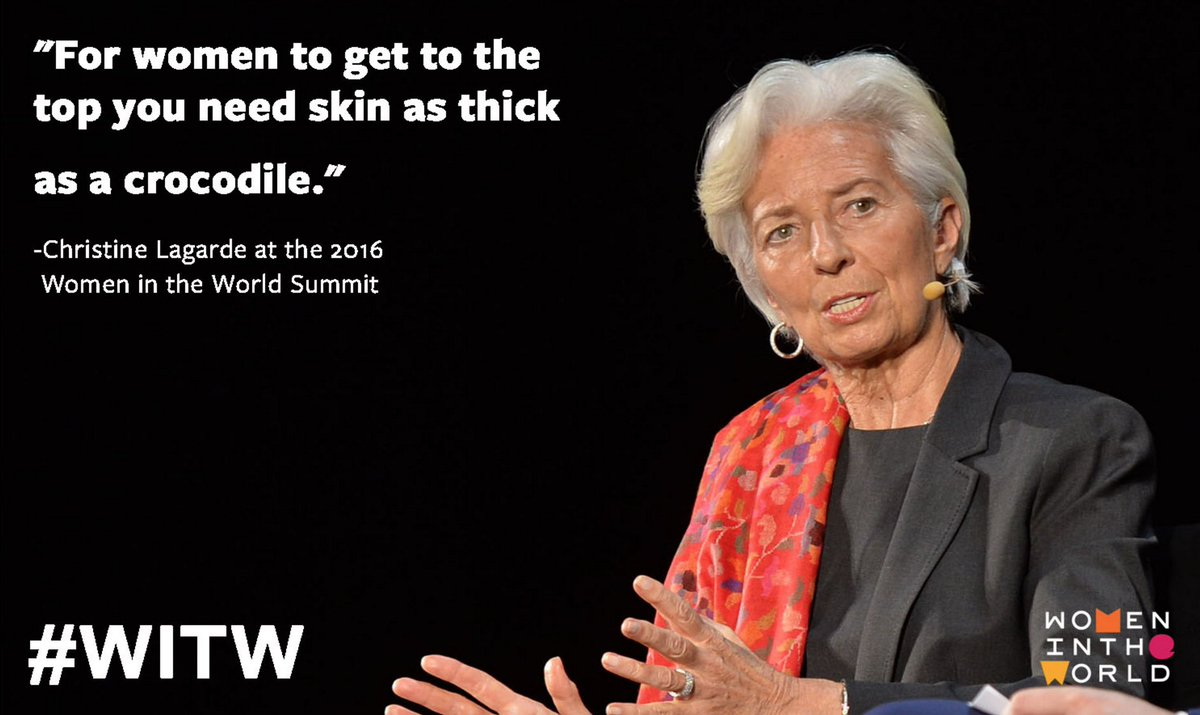 Christine Lagarde Summit : Christine Lagarde memorable quote WITW