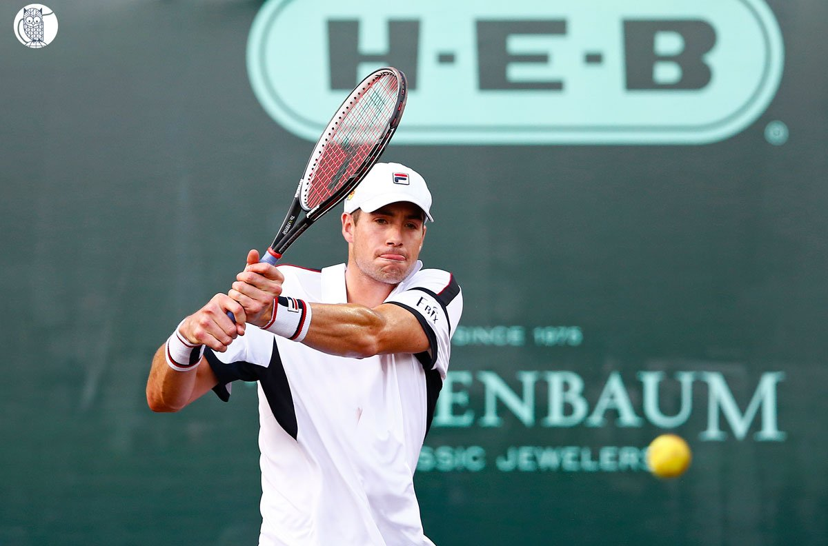 Four Americans are into the quarterfinals here for first time since 2012: Isner, Sock, Querrey & Smyczek. #USClay https://t.co/EVxZDjBmQa