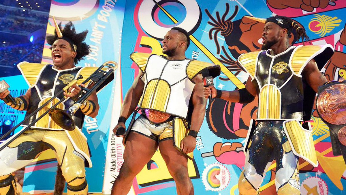 My interview w/ @XavierWoodsPhD about his DBZ entrance @ WrestleMania & his love of anime: https://t.co/o8ZDIsFQTS https://t.co/n0LxL0dydo
