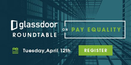 Excited to host the Glassdoor Roundtable on Pay Equality with @HillaryClinton #ShareYourPay https://t.co/ykATzfkO7K https://t.co/TwVabkGGNV