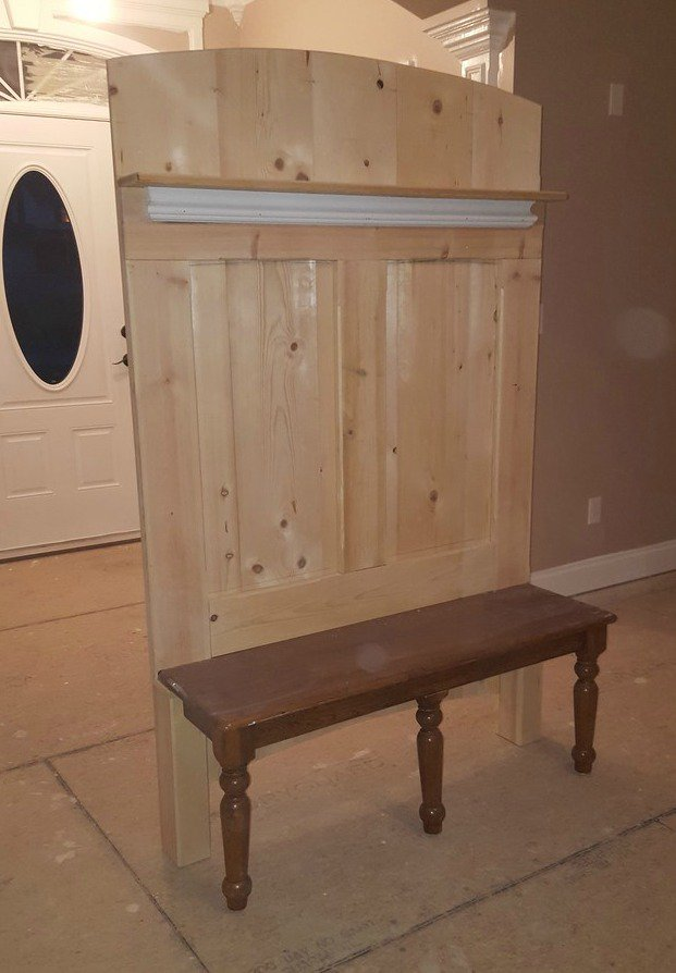 Rockler Woodworking On Twitter David Rowlett Repurposed This Bench With A Kreg Jig It Turned Out Great Rockler Woodworking Wood Diy Kreg Https T Co L7iauwwwbt
