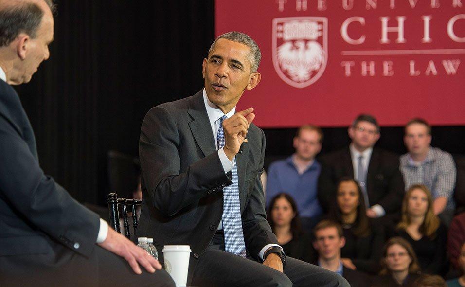 Obama Returns to the Law School https://t.co/kCMIOSJ2LY https://t.co/xSRPdoZClx