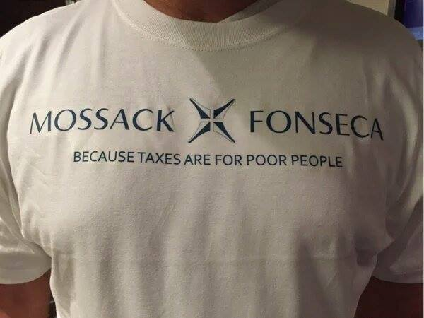 Mossack Fonseca - Because Taxes Are For Poor People #panamapapers https://t.co/8REC8yJlFy