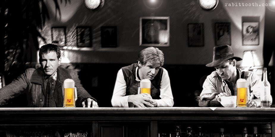 """Three Fords walk into a Bar""... Soo cool! https://t.co/0fSkfaaKpF"